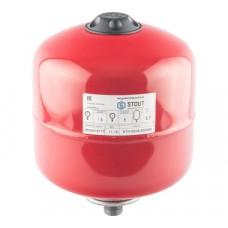 STOUT Расширительный бак на отопление 5 л. (цвет красный)