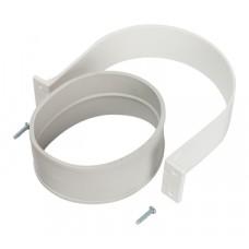 STOUT Элемент дымохода комплект для соединеия труб внешний DN100, уплотнение EPDM и хомут в комплекте.