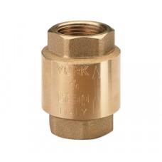 Itap YORK 103 1/2 Клапан обратный пружинный муфтовый с пластиковым седлом