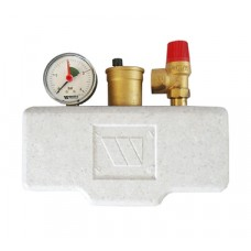 Watts KSG 30/ISO2 Группа безопасности в теплоизоляции 3 бар (до 50 кВт)