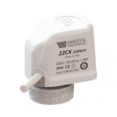 Watts 22CX Электротермический сервопривод 24В. Норм. открытый