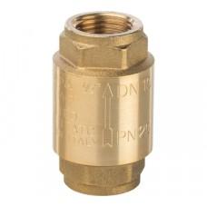 """STOUT 1/2"""" Клапан обратный пружинный муфтовый с металлическим седлом"""