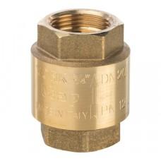 STOUT 3/4 Клапан обратный пружинный муфтовый с пластиковым седлом