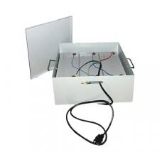 Teplocom УМБ-3/120-Металлический бокс для безопасной эксплуатации АКБ 530х400х265 мм
